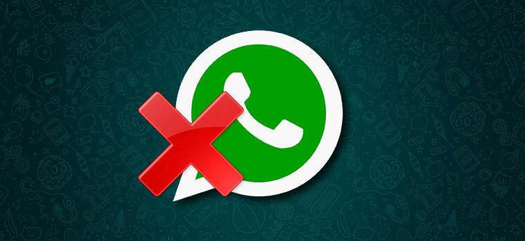 Как удалить WhatsApp с телефона или компьютера