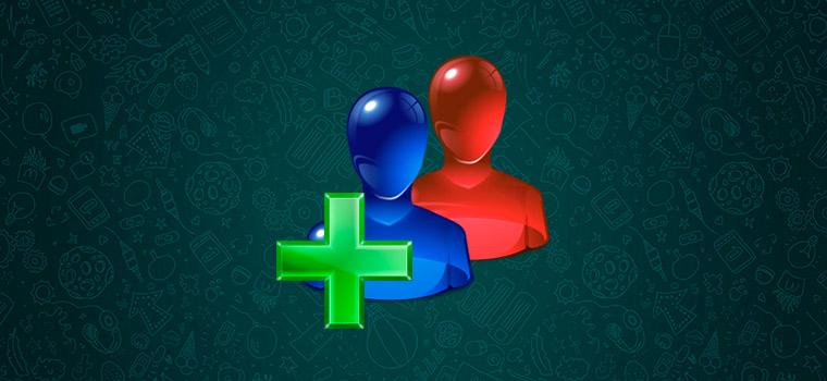 Как добавить или удалить контакт в группу WhatsApp