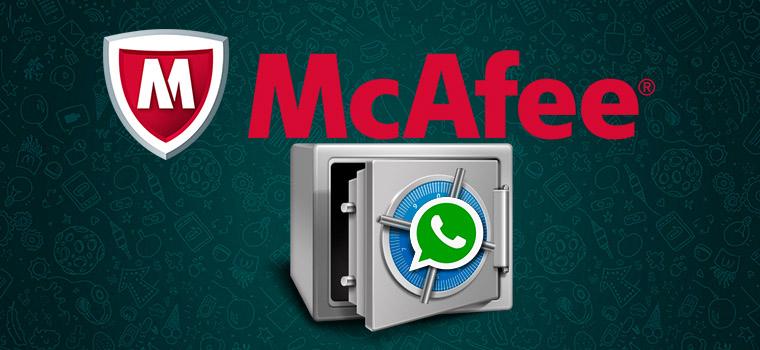 McAfee взломал переписку WhatsApp на Android