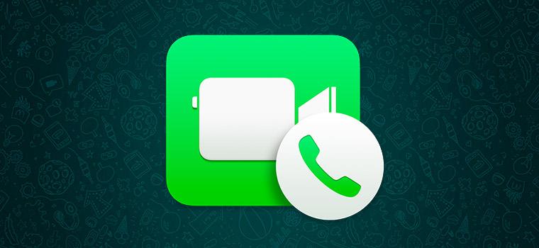 Видеозвонки в Whatsapp совсем скоро