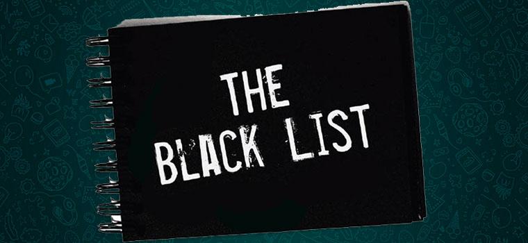 Черный список WhatsApp