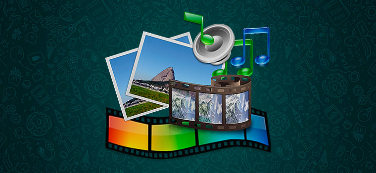 Как отправлять аудио,видео и картинки в Ватсапп